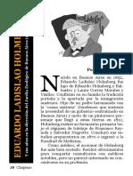 Eduardo Ladislao Holmberg y Sus Años En el Jardín Zoológico