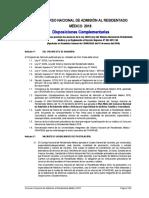 Disposiciones Complementarias 2018