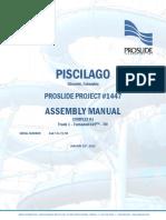 Assembly Manual PROSLIDE tobogan