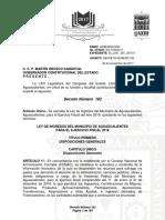 Ley de Ingresos Con Fe de Erratas i 2018 [Aguascalientes]