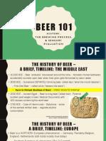 Week 10 - Beer 101 Shires
