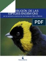 03. Especies Endémicas  en la vertiente oriental de los Andes en Perú y Boli- via..pdf