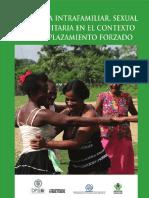 Violencia Intrafamiliar, Sexual y Comunitaria en El Contexto Del Desplazamiento Forzado