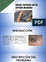 Accidentes Fatales en Sector Minero