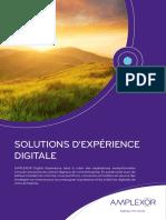 AMPLEXOR Solutions d'Expérience Digitale