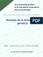 Medida de La Diversidad Genetica Clase