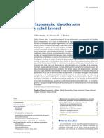Ergonomia Kinesiterapia y Salud Laboral