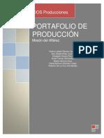Portafolio de Producción
