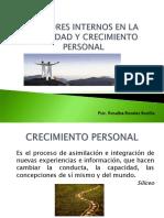 Clase 3 Factores Internos en La Vitalidad y Crecimiento Personal