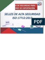 ⭐SELLOS DE ALTA SEGURIDAD ISO 17712_2013