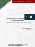 UNIVERSIDADE E DESENVOLVIMENTO - Experiências exitosas de centros de pesquisas.pdf