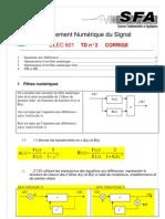 Correction Exercice de Cours - Filtre IIR