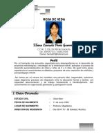 Hoja de Vida Eliana Guerrero