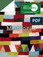 Desde La Región Nº54 Tema Memoria