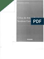 Crítica de Arte no Brasil Temáticas Contemporâneas - Org Glória Ferreira