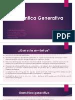 Semántica-Generativa