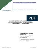 Dispositivos Reductores de Ruido y Pantallas Acústicas. Generalidades, Coeficientes y Tecnologías.pdf