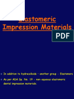 Elastomeric Impression Materials
