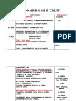 Programa General Celeste