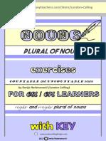 Nouns TpT Exercises