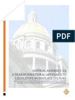 Colorado Legislative Workplace Study