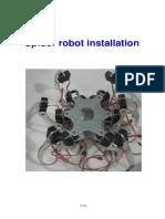 Six Legged Robot Installation Tutorial