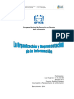 Organización y Representación de La Información