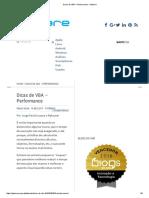 Dicas de VBA – Performance - Pplware