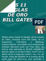 11 Reglas de Oro de Bill Gates