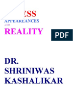 Stress Appearances and Reality Dr. Shriniwas Kashalikar (3)