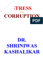 Stress and Corruption Dr. Shriniwas Kashalikar (1)