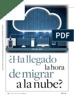 Caso, Ha Llegado La Hora de Migrar a La Nube
