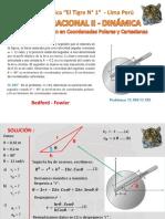 DINAMICA - COORDENADAS POLARES  Y CARTESIANAS