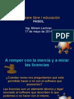Presentación FAISOL
