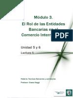M3 Lectura 5 - El Rol de Las Entidades Bancarias en El Comercio Internacional SAM