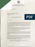 Fiscalía investiga irregularidades en proyectos posconflicto