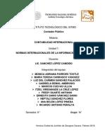 Contabilidad Internacional Unidad 1