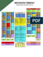Cronograma Académico por parciales 2018-2019