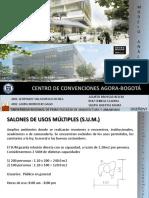ANTROPOMETRIA CENTRO DE CONVENCIONES