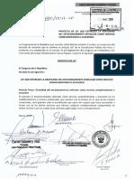 PL N°2600/2018-CR