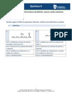 MIV-U5- Actividad 3. Nomenclatura de Aldehídos, Cetonas y Ácidos Carboxílicos