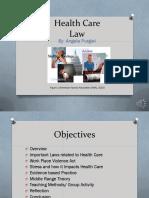 health care law  1