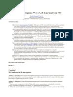 d.s. 21137 Bono de Antiguedad