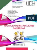 INSTALACIONES SANITARIAS- GRUPO N°1