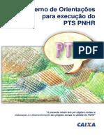 Caderno de Orientações Para Execução Do TS PNHR