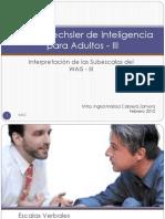 Escala Wechsler de Inteligencia Para Adultos - III