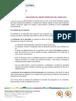 Criterios Para La Seleccion Equipo Operativo 20180404