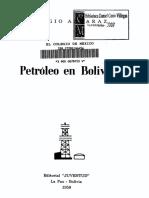 Sergio Almaraz - Petróleo en Bolivia