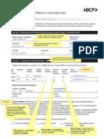 Guía de Llenado Contrato Telecrédito