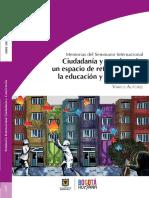Ciudadanaia y Convivencia_Memorias Seminario_Idep